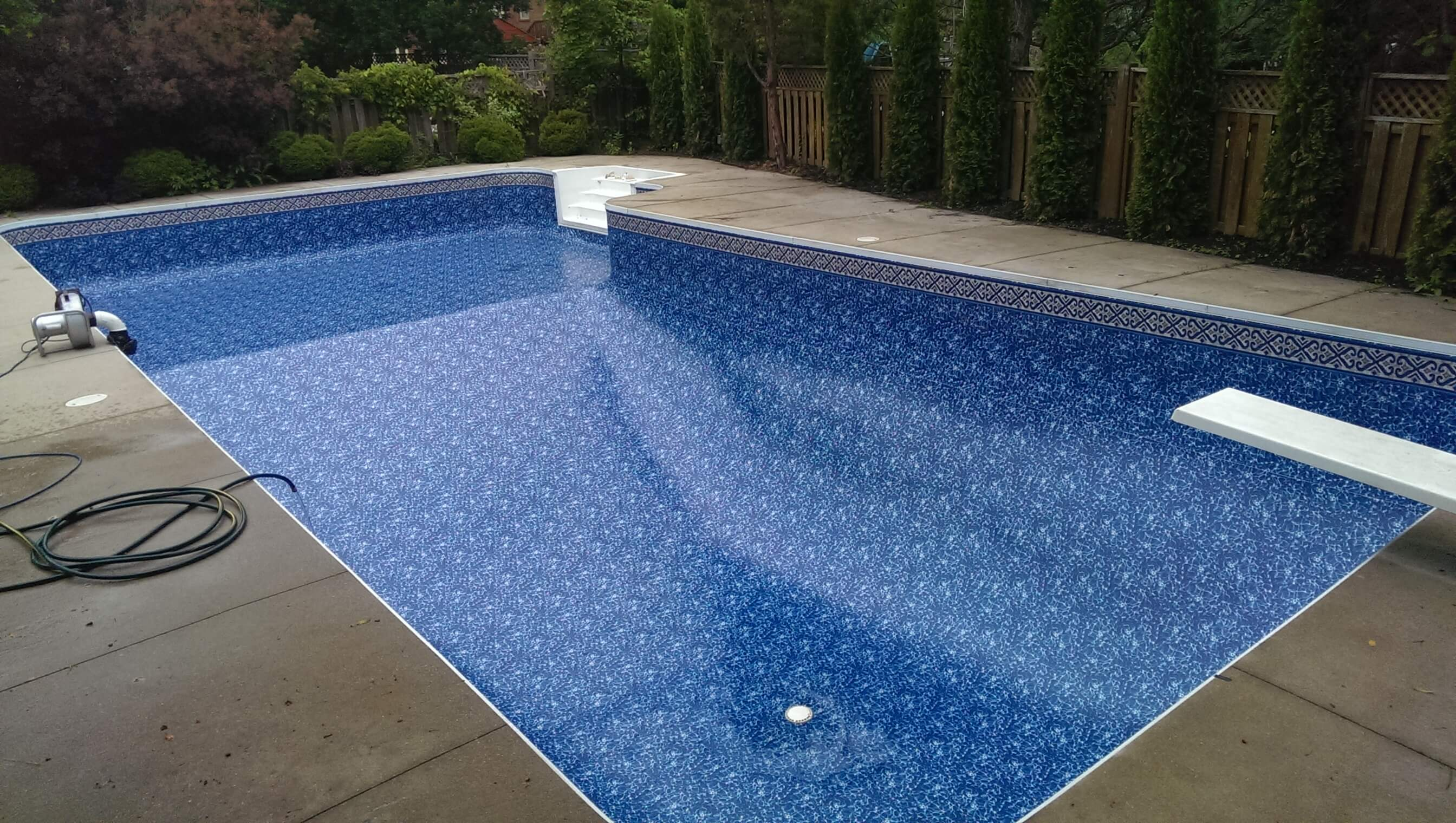 Swimming pool liners pickering ajax whitby oshawa for Swimming pool liners